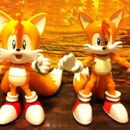 اكشن فيگور هاى سرى ٢٠امين سالگرد سونيك : Tails and Grabber