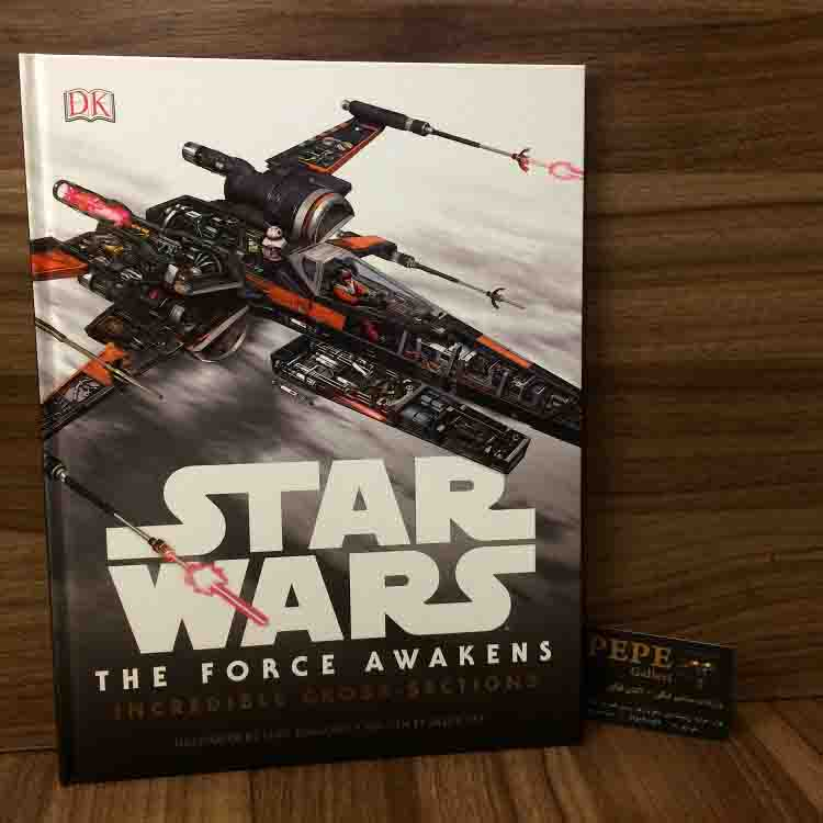 Star Wars: The Force Awakens Incredible Cross-Sections HardCover Artbook