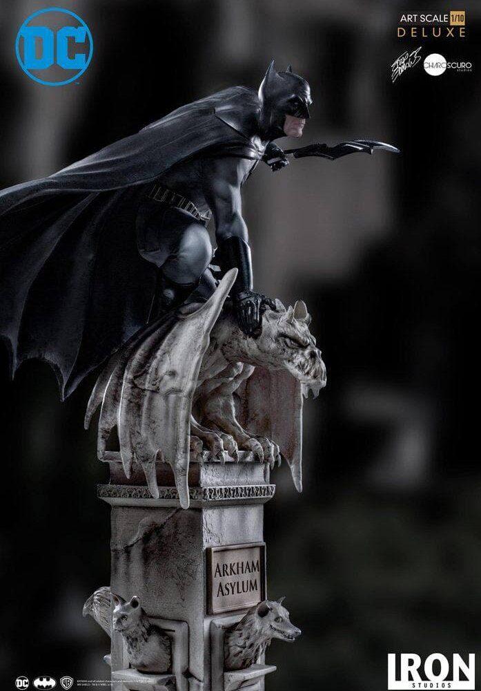 مجسمه بسیار زیبا از بتمن ( آرکهام اسایلوم – دی سی کمیکز ) (1)