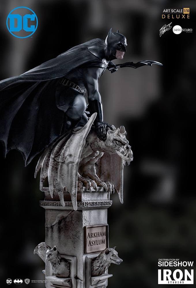 مجسمه بسیار زیبا از بتمن ( آرکهام اسایلوم – دی سی کمیکز ) (10)