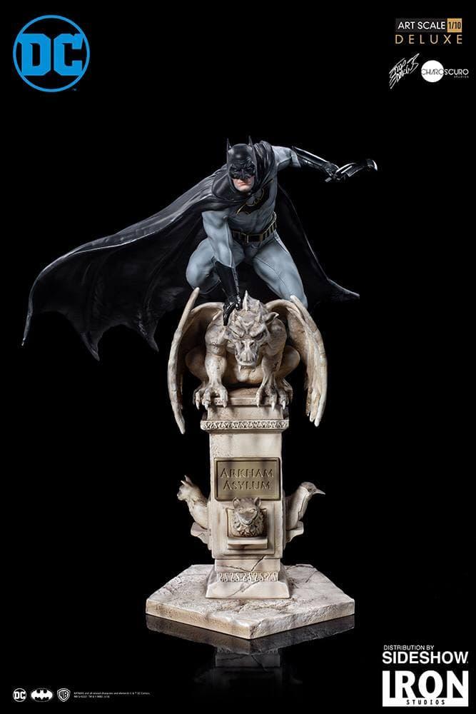 مجسمه بسیار زیبا از بتمن ( آرکهام اسایلوم – دی سی کمیکز ) (4)
