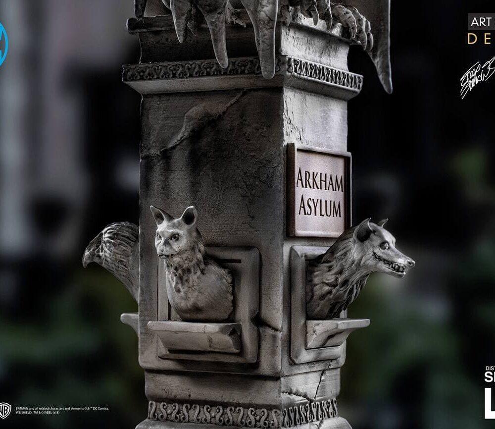 مجسمه بسیار زیبا از بتمن ( آرکهام اسایلوم – دی سی کمیکز ) (6)