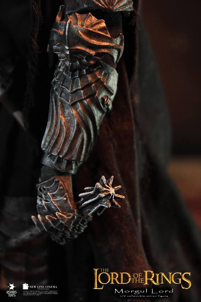 اکشن فیگور فوق العاده و کمیاب Morgul Lord ( ویچ کینگ – ارباب حلقه ها ) (10)
