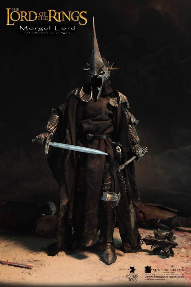 اکشن فیگور فوق العاده و کمیاب Morgul Lord ( ویچ کینگ – ارباب حلقه ها ) (11)