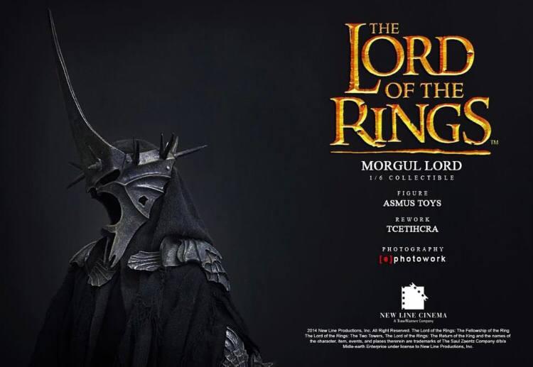 اکشن فیگور فوق العاده و کمیاب Morgul Lord ( ویچ کینگ – ارباب حلقه ها ) (13)