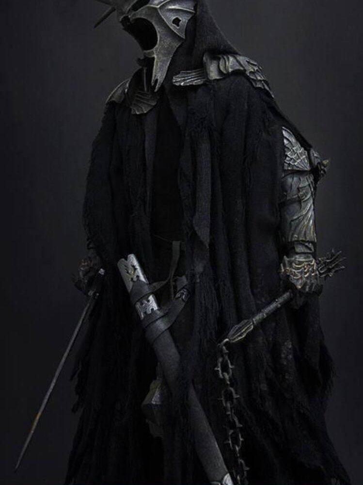 اکشن فیگور فوق العاده و کمیاب Morgul Lord ( ویچ کینگ – ارباب حلقه ها ) (15)