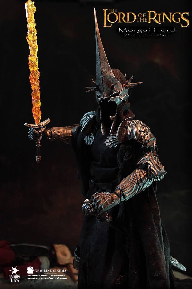 اکشن فیگور فوق العاده و کمیاب Morgul Lord ( ویچ کینگ – ارباب حلقه ها ) (4)