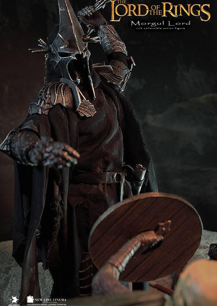 اکشن فیگور فوق العاده و کمیاب Morgul Lord ( ویچ کینگ – ارباب حلقه ها ) (5)