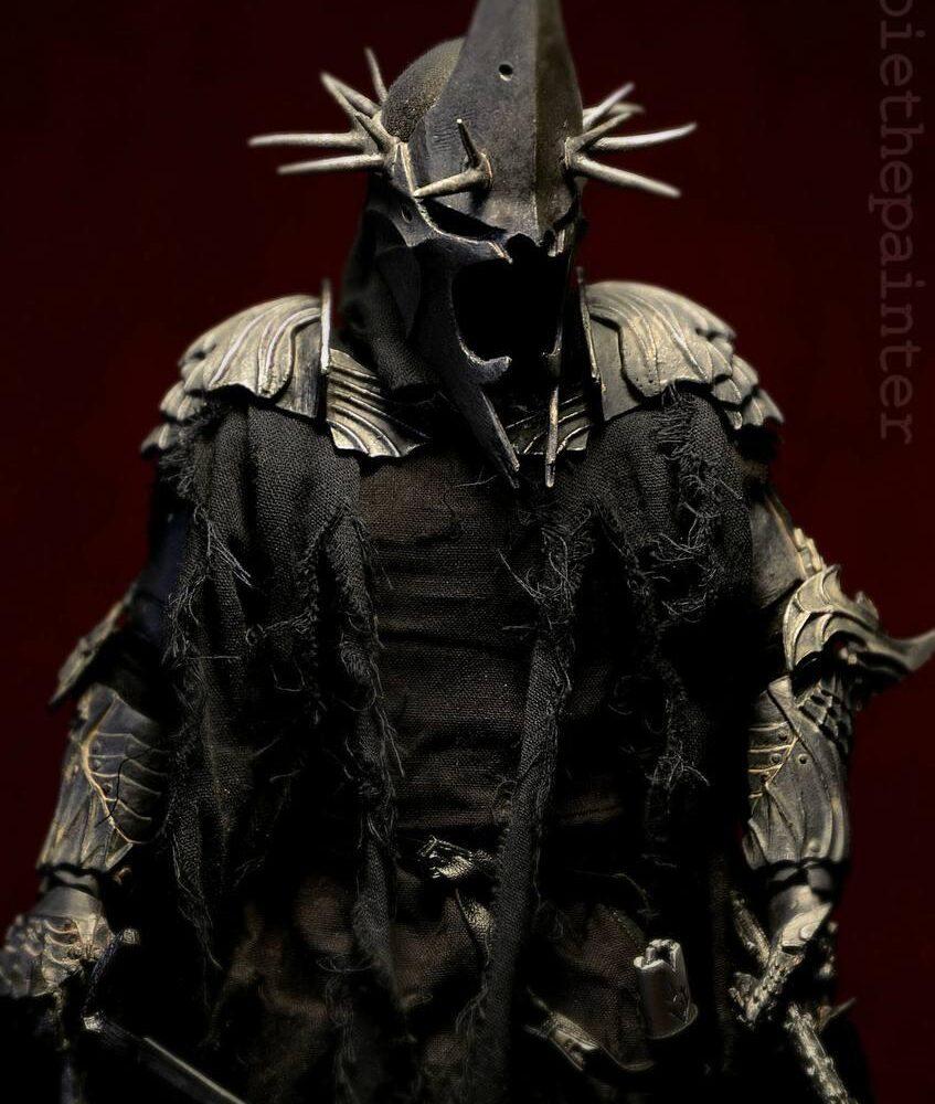 اکشن فیگور فوق العاده و کمیاب Morgul Lord ( ویچ کینگ – ارباب حلقه ها ) (7)