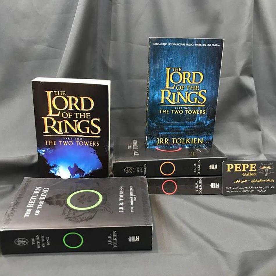 سری ۳ جلدی کتاب های ارباب حلقه ها ( یاران حلقه / دو برج / بازگشت پادشاه )