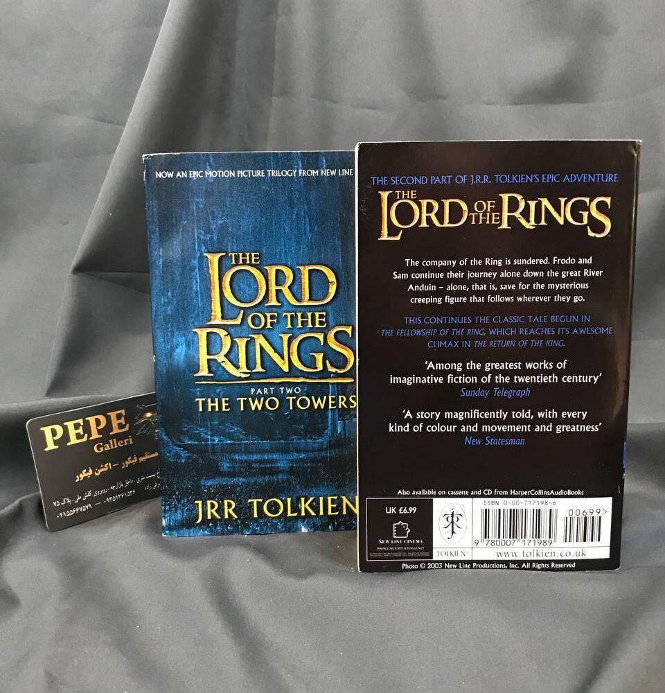 سری ۳ جلدی کتاب های ارباب حلقه ها ( یاران حلقه دو برج بازگشت پادشاه ) (10)