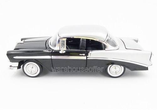 ماکت فلزی جادا شورلت (1956 CHEVY BEL AIR BY JADA) مشکی ( مجموعه سریع و خشن ) (6)