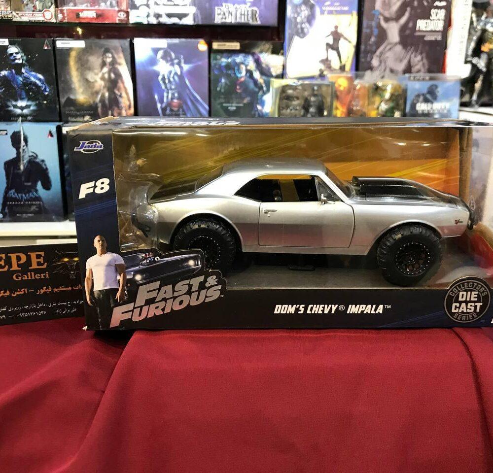 ماکت فلزی جادا مدل Fast & Furious 1967 Chevy Camaro (2)