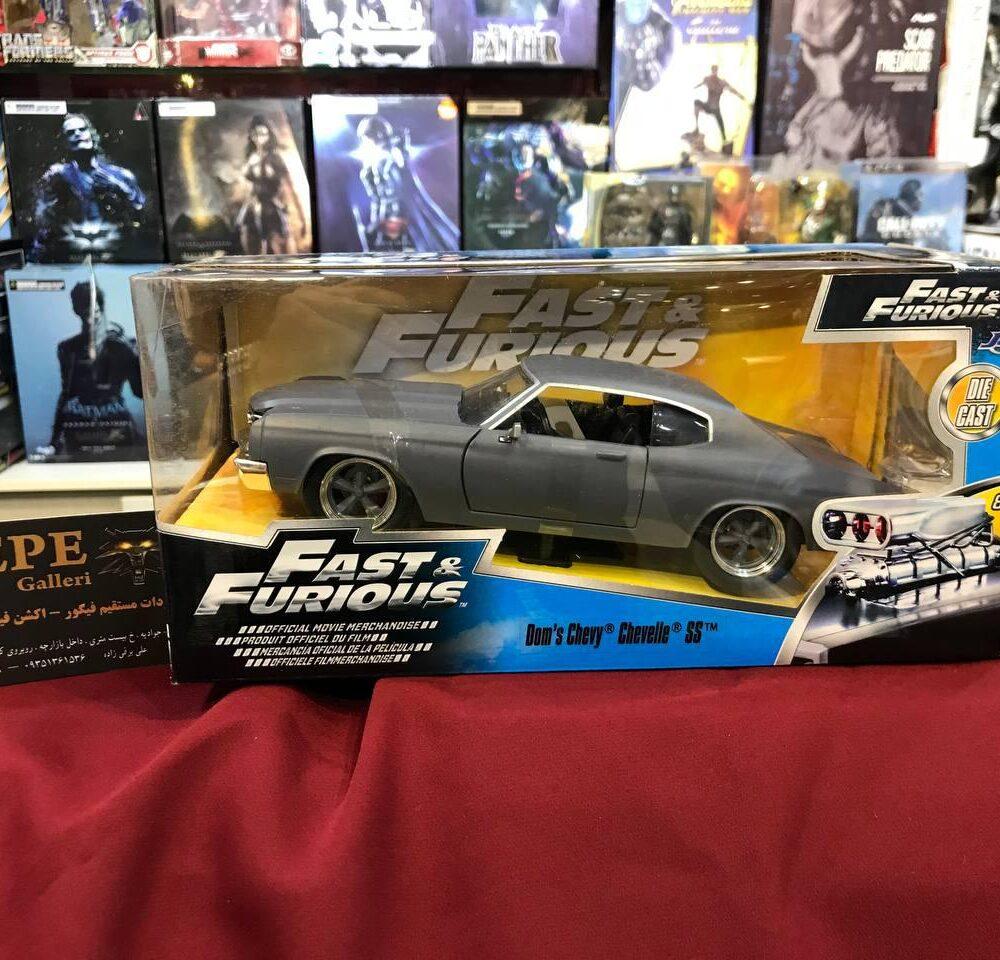 ماکت فلزی جادا مدل Fast & Furious 1970 Chevy Chevelle SS (1)