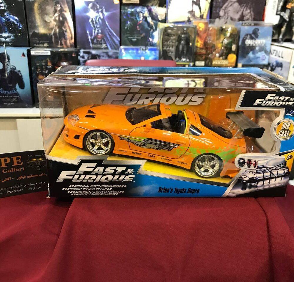 ماکت فلزی جادا مدل Fast & Furious 1995 Toyota Supra (2)