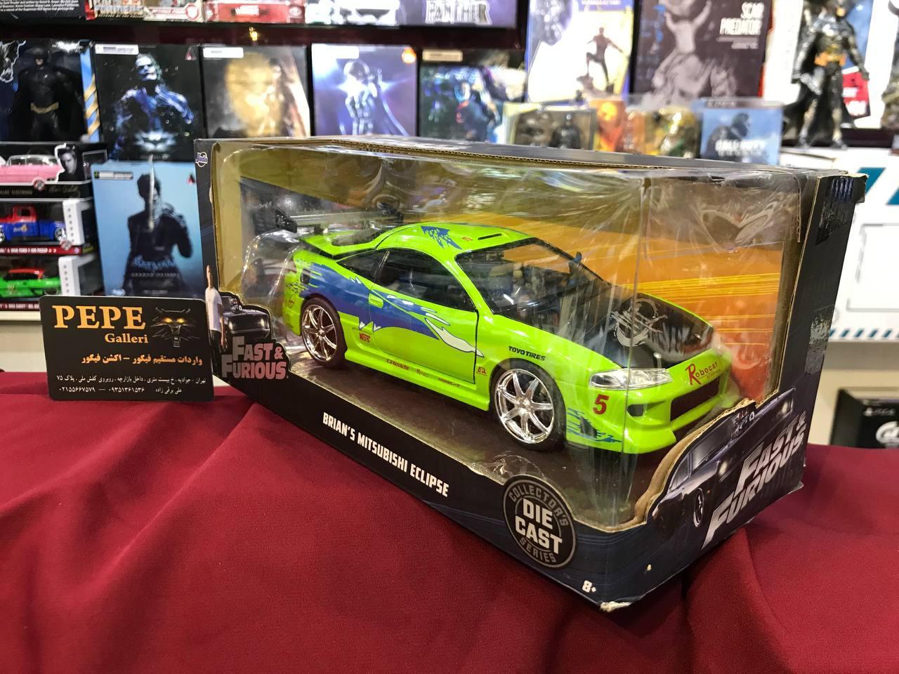 ماکت فلزی جادا مدل Fast & Furious Brian's Mitsubishi Eclipse (2)