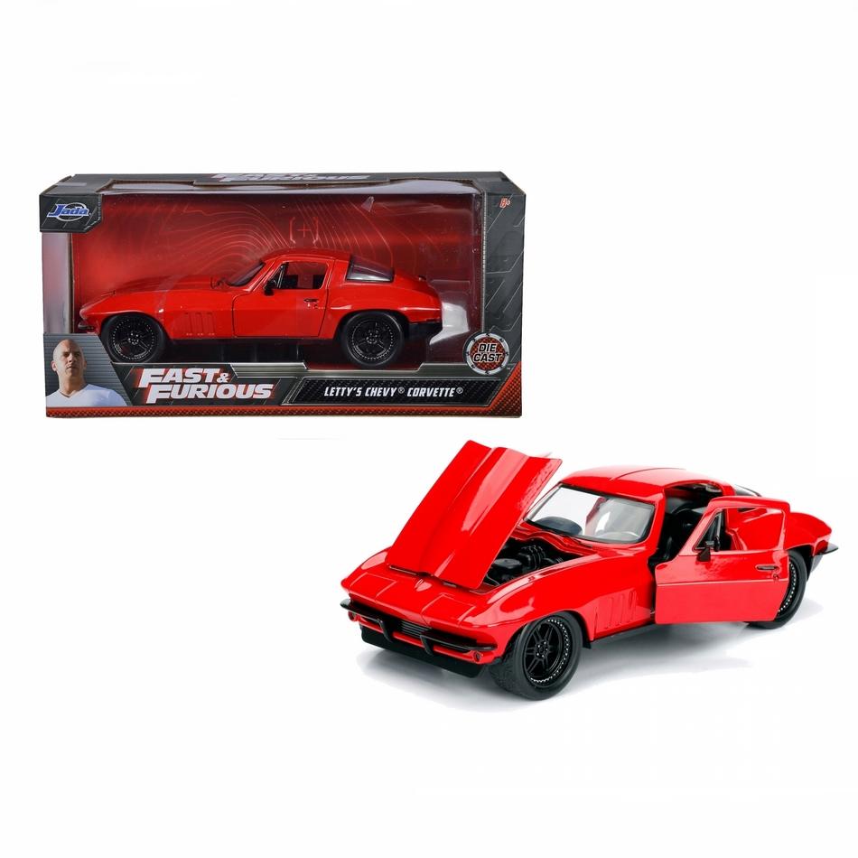 ماکت فلزی جادا مدل Fast & Furious FF8 1966 Chevy Corvette