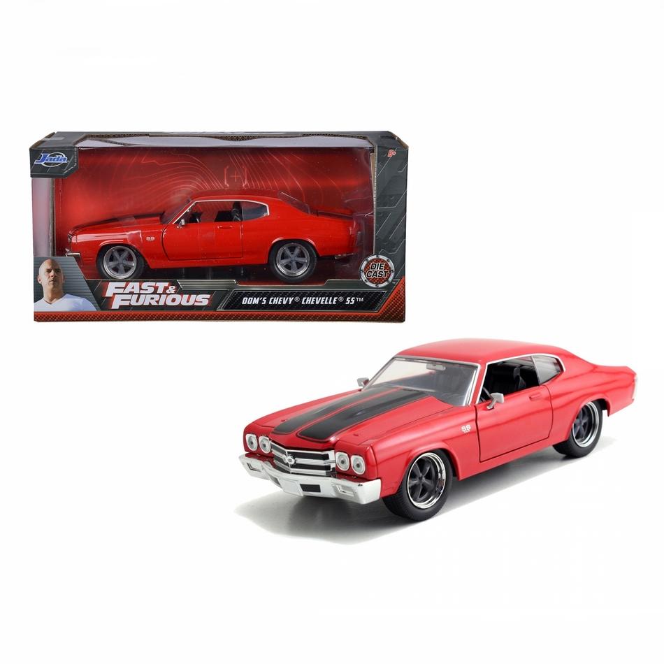 ماکت فلزی جادا مدل Fast&Furious 1970 Chevy Chevelle SS red