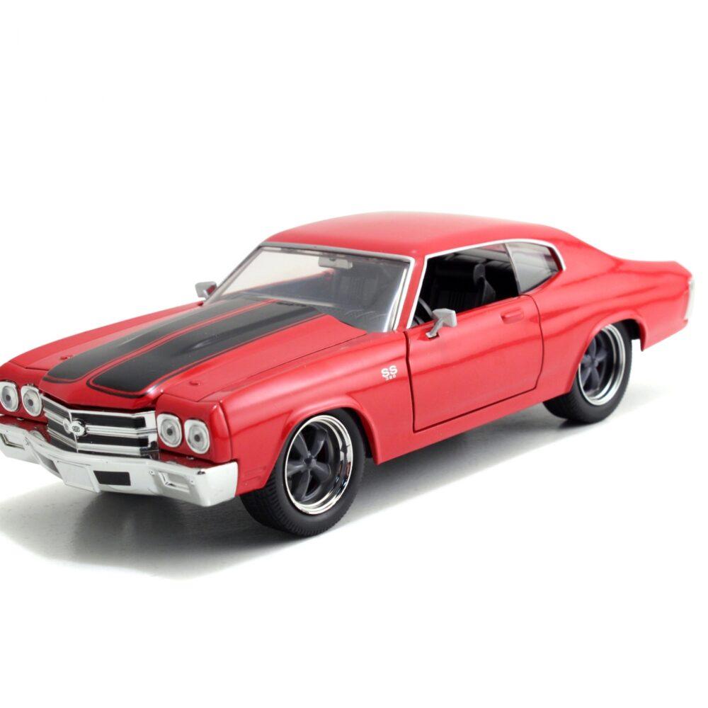 ماکت فلزی جادا مدل Fast&Furious 1970 Chevy Chevelle SS red (2)