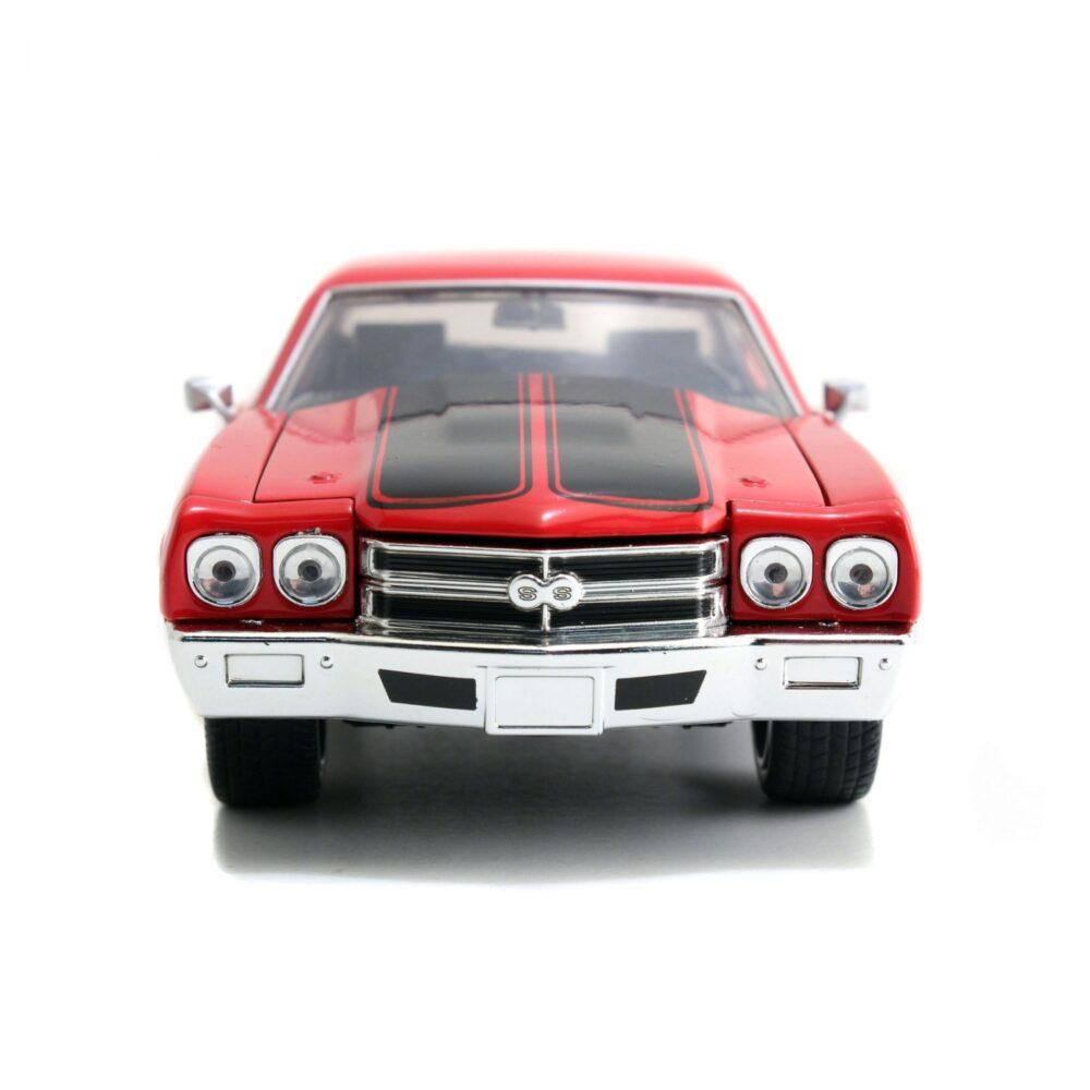 ماکت فلزی جادا مدل Fast&Furious 1970 Chevy Chevelle SS red (4)