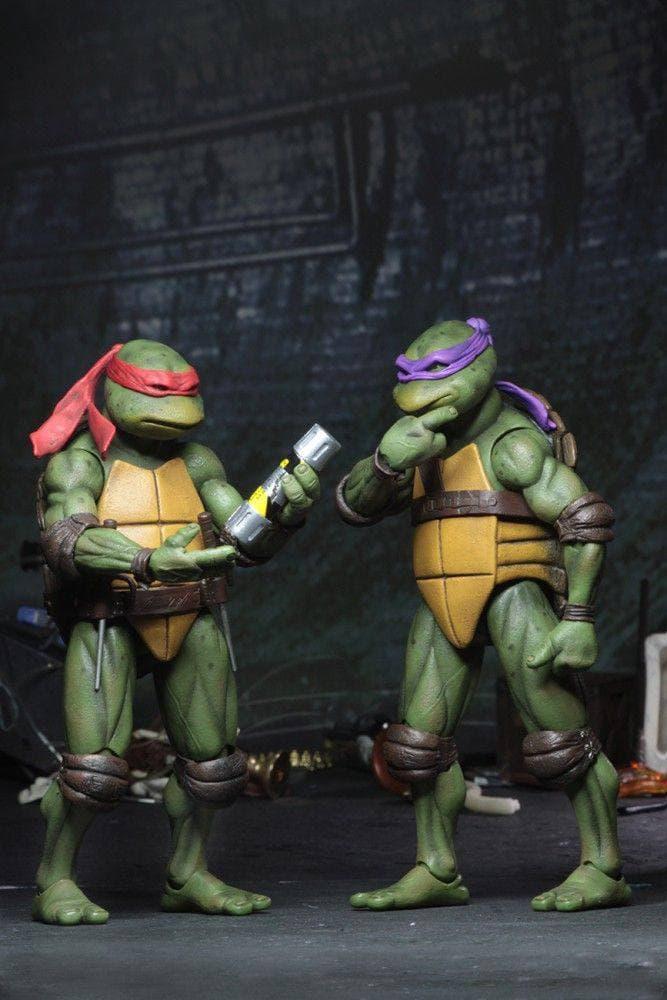 پک ۴ عددی اکشن فيگور های لاکپشت های نینجا ( SDCC 2019 TMNT ) (8)
