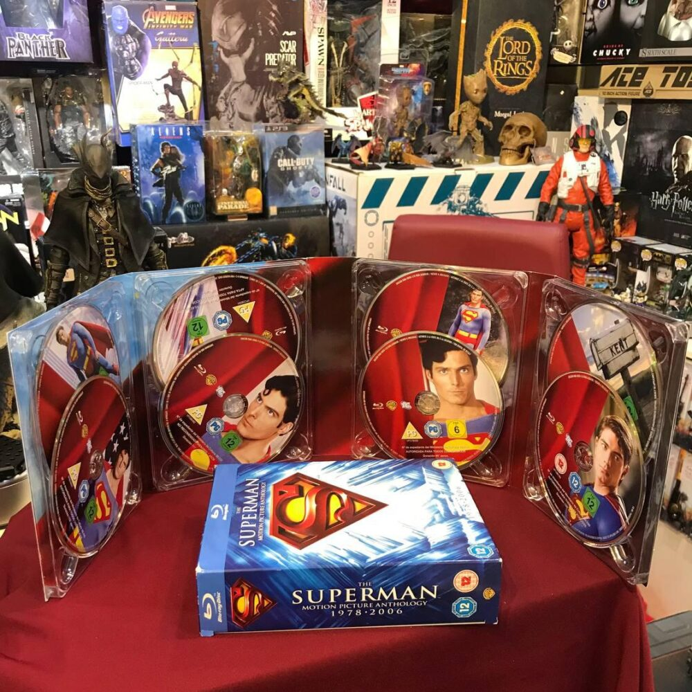 کالکشن کامل بلوری سوپرمن کریستوفر ریوز (10)