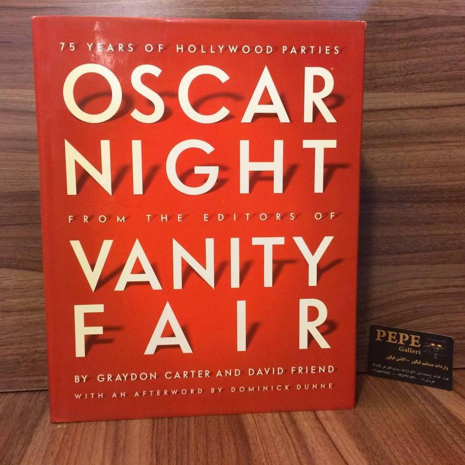 کتاب( آلبوم عکس )فوق العاده شب اسکار( دربرگیرنده ی ۷۵ سال از مراسم اسکار )