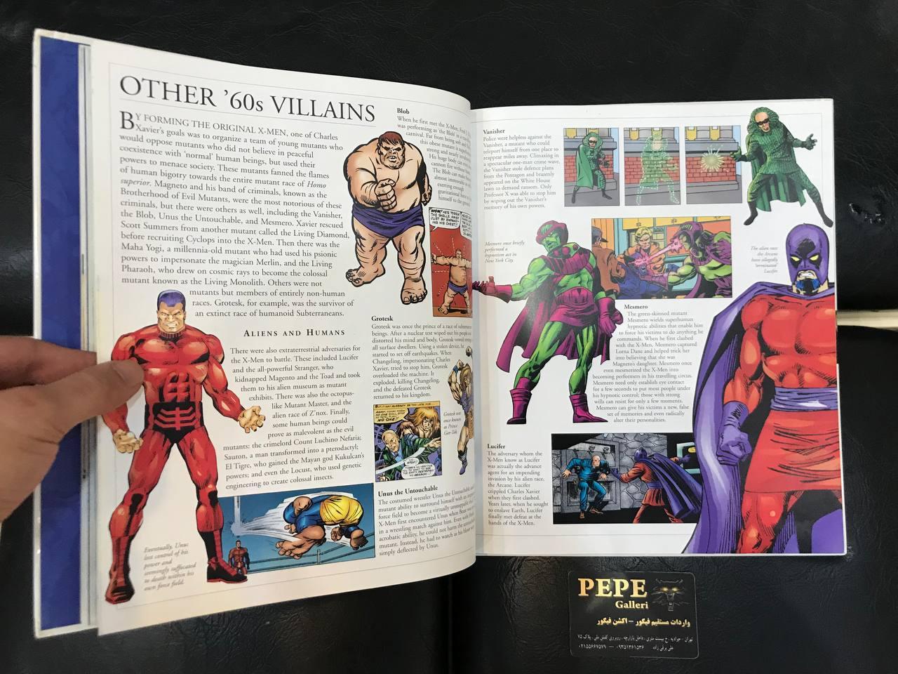 کتاب راهنمای تمام شخصیت های ایکس من (14)