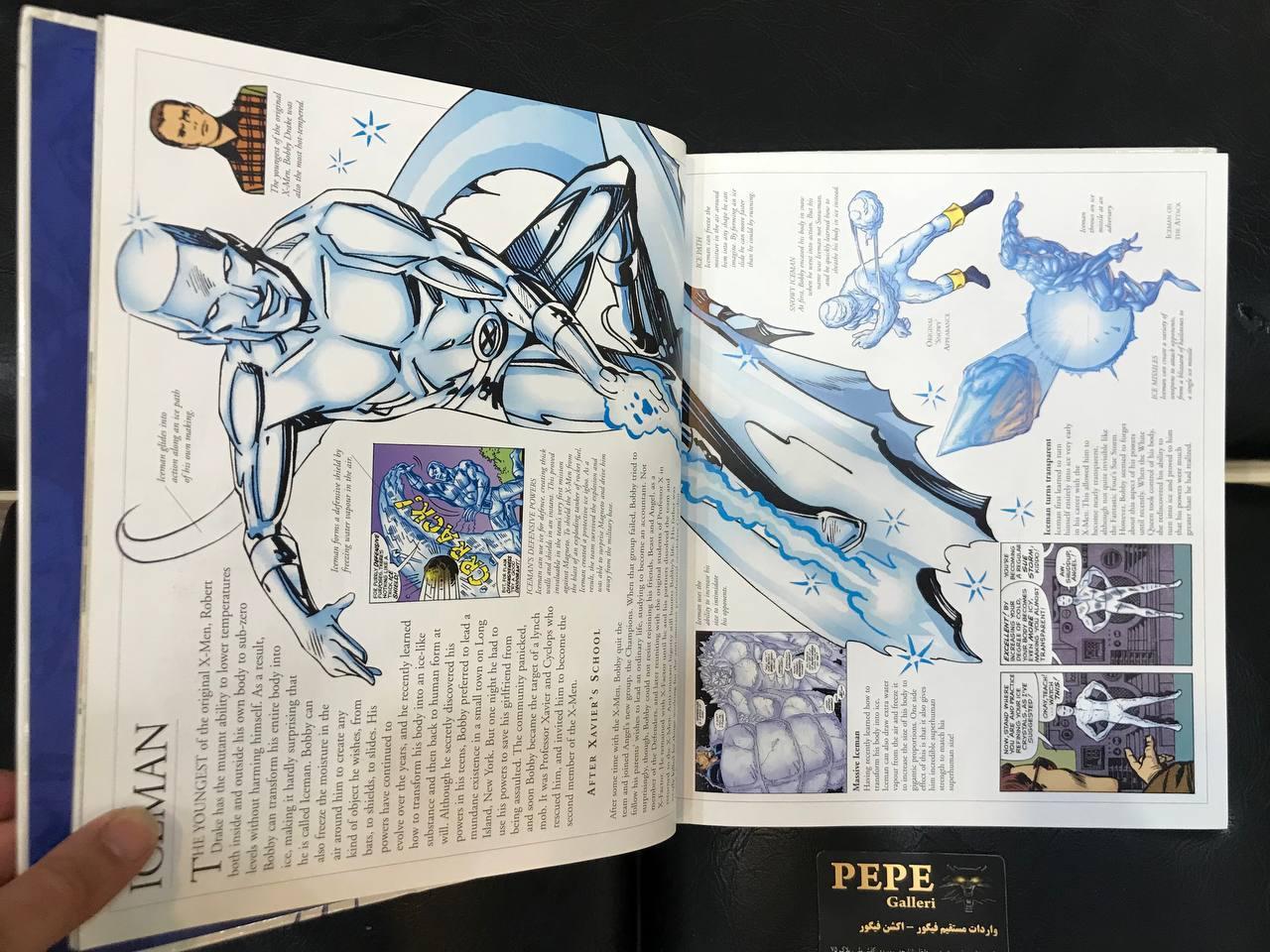 کتاب راهنمای تمام شخصیت های ایکس من (6)