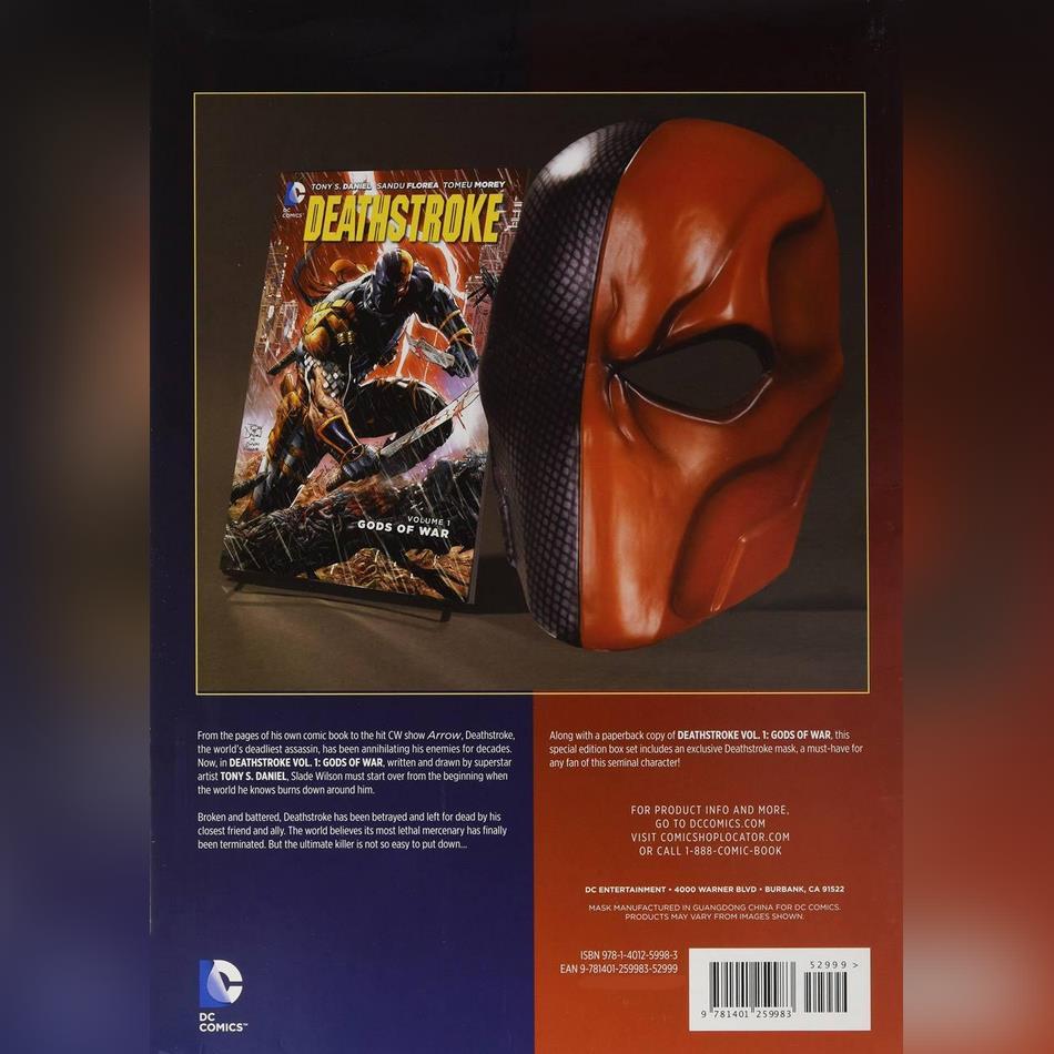گیفت ست کتاب دث استروک ( Tony Daniel ) به همراه ماسک دث استروک