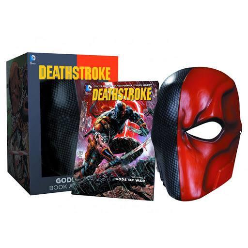 گیفت ست کتاب دث استروک ( Tony Daniel ) به همراه ماسک دث استروک (3)