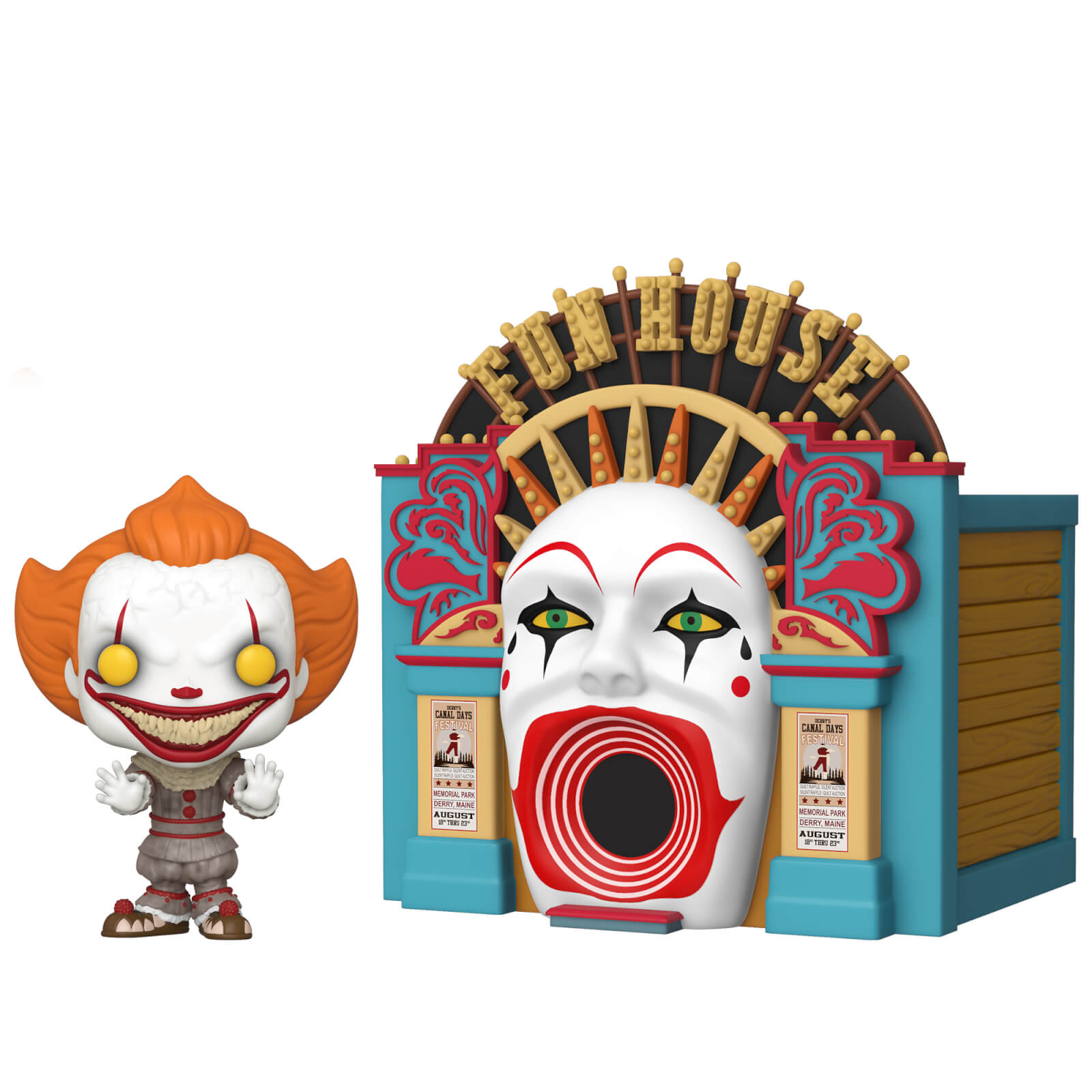 Funko Pop- Demonic Pennywise with Funhouse (1)