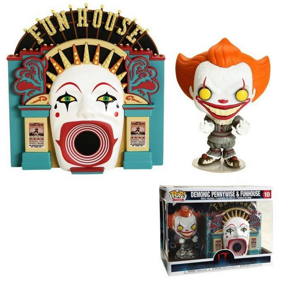 Funko Pop- Demonic Pennywise with Funhouse