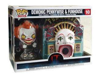 Funko Pop- Demonic Pennywise with Funhouse (2)