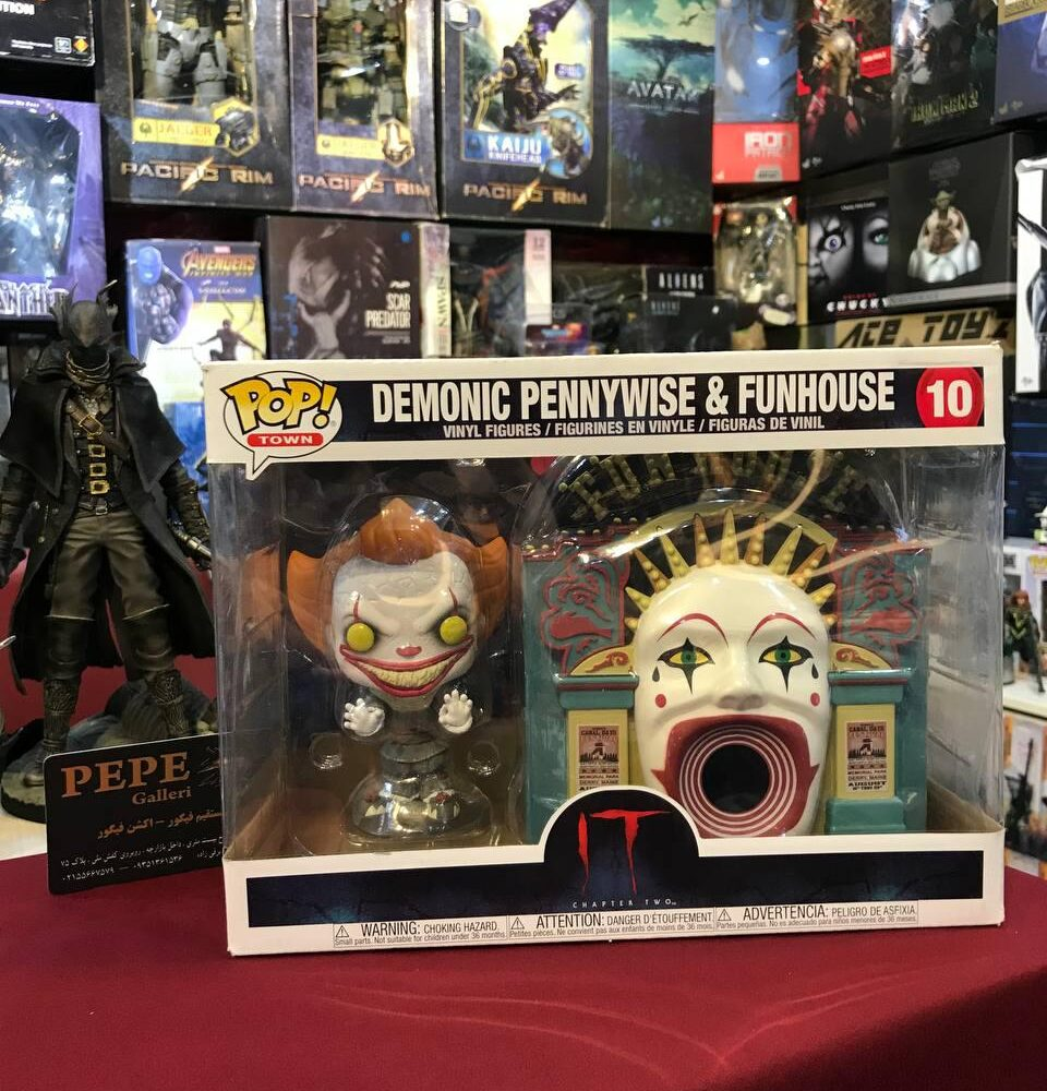 Funko Pop- Demonic Pennywise with Funhouse (3)
