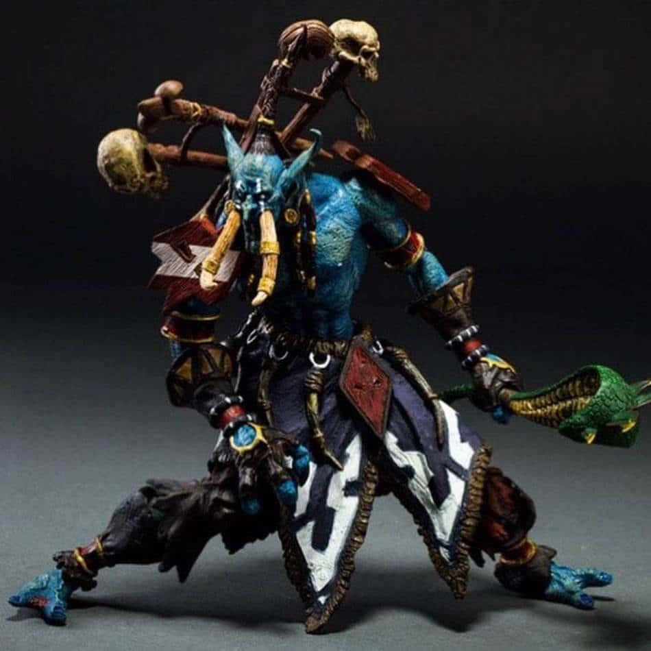 World of Warcraft JUNGLE TROLL PRIEST SOTA TOYS Color