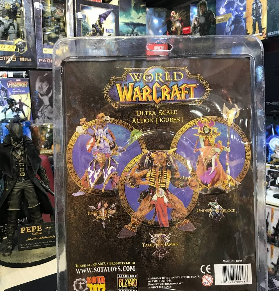 World of Warcraft JUNGLE TROLL PRIEST SOTA TOYS Color STYLE Action Figure (10)