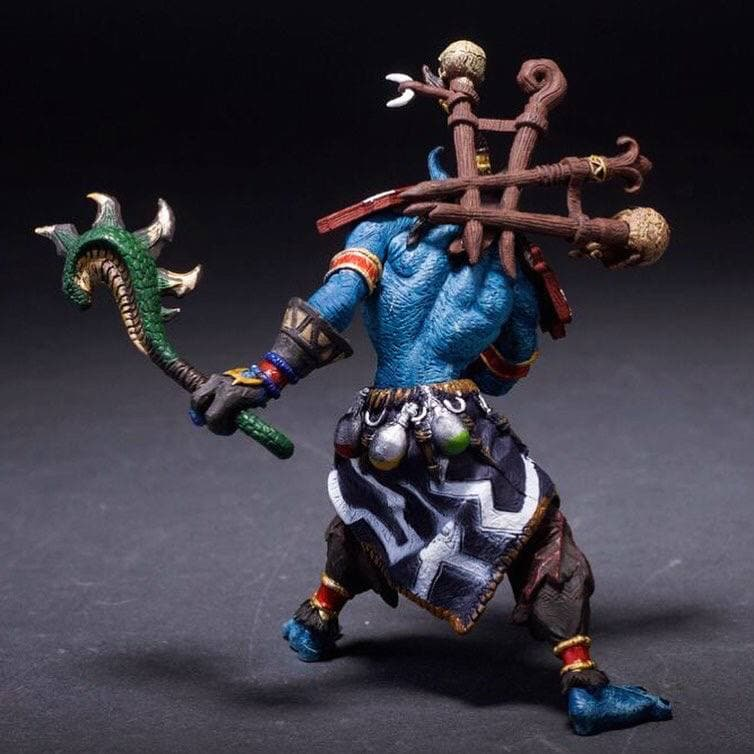 World of Warcraft JUNGLE TROLL PRIEST SOTA TOYS Color STYLE Action Figure (2)