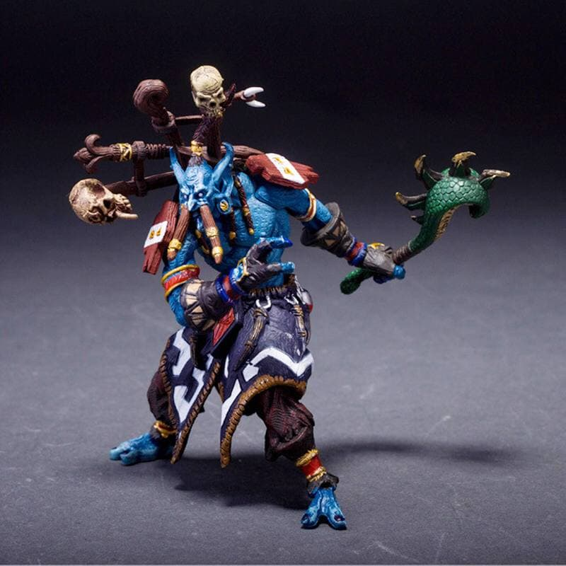 World of Warcraft JUNGLE TROLL PRIEST SOTA TOYS Color STYLE Action Figure (3)