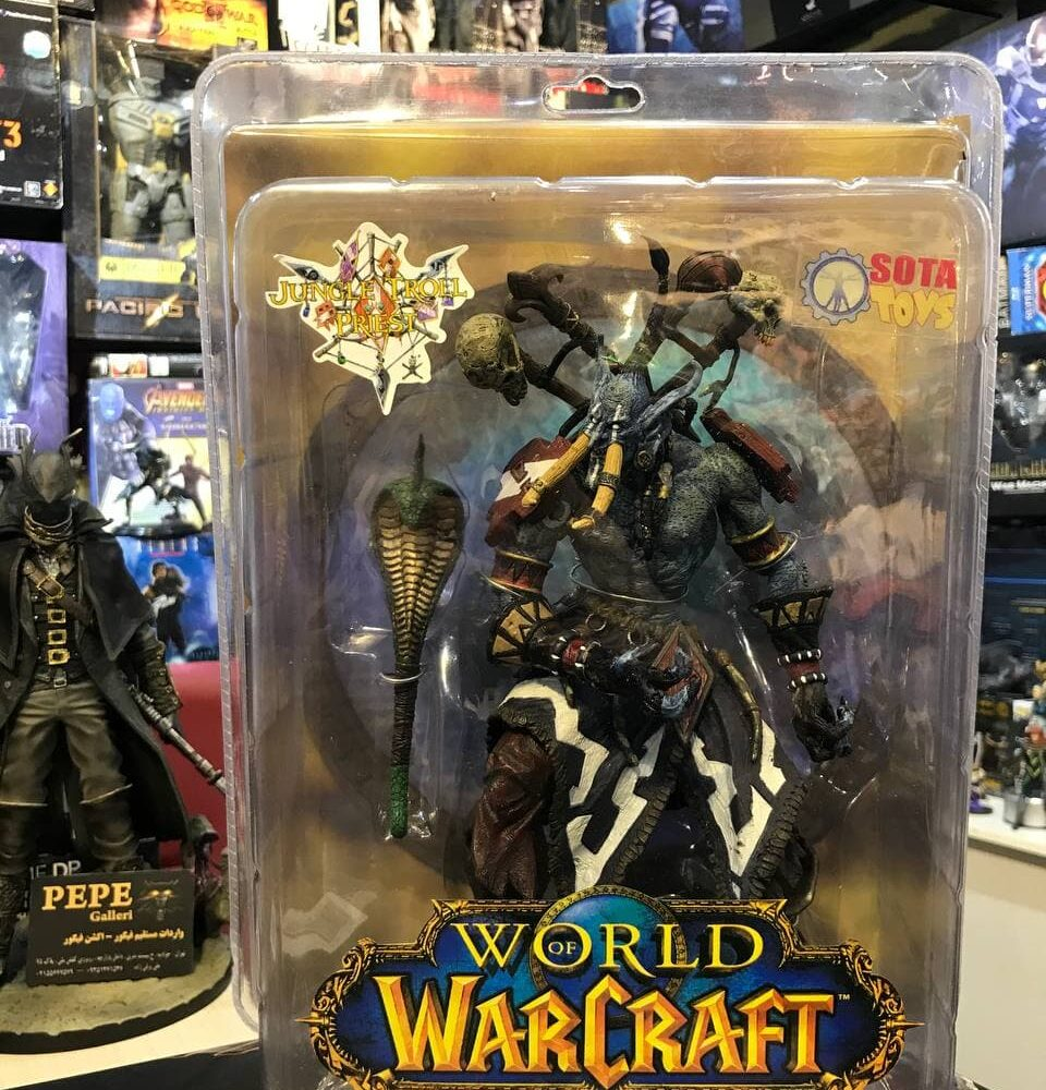 World of Warcraft JUNGLE TROLL PRIEST SOTA TOYS Color STYLE Action Figure (9)