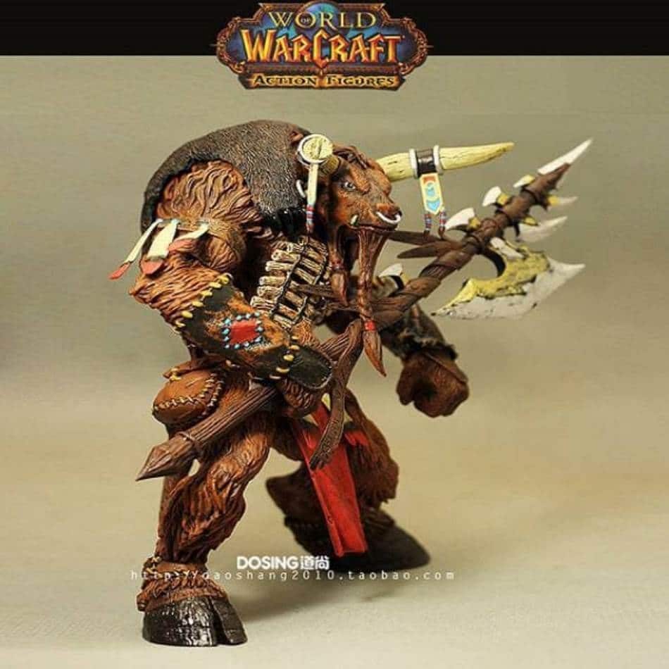 World of Warcraft Tauren Shaman Color 10Inch Action Figure
