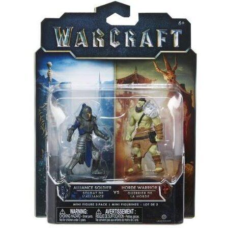 اکشن فیگور جنگجوی هورد و سرباز اتحاد(warcraft)