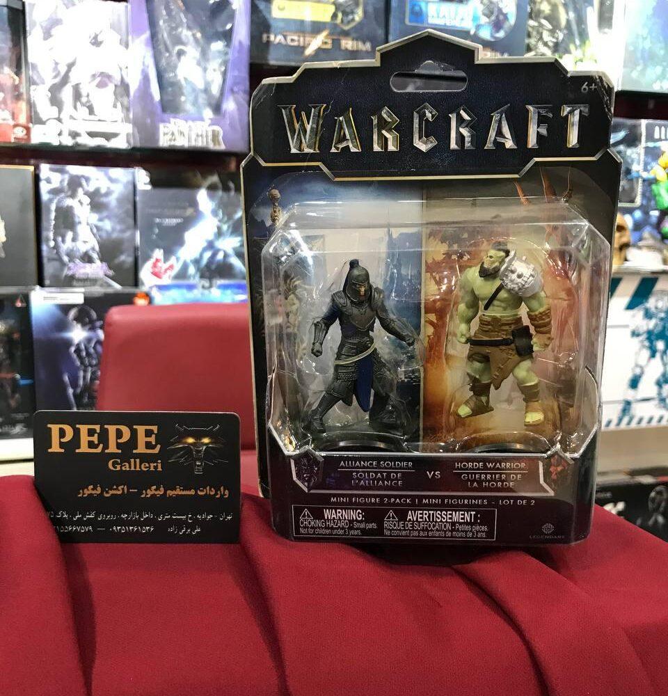 اکشن فیگور جنگجوی هورد و سرباز اتحاد(warcraft) (7)