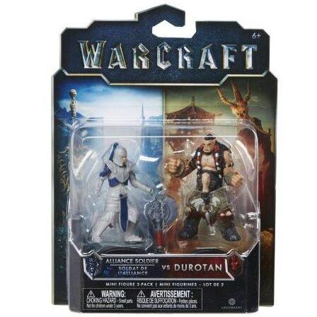 اکشن فیگور دوراتان و سرباز اتحاد (warcraft)