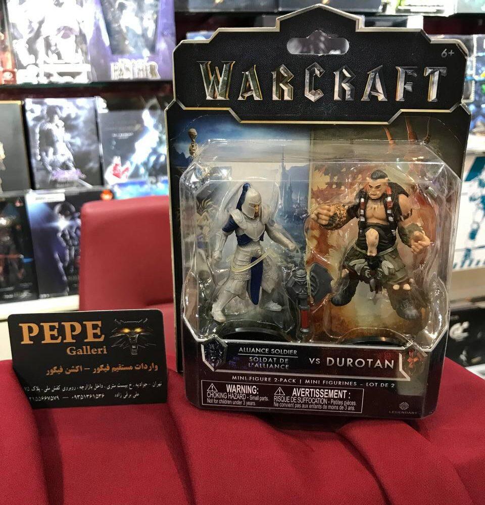 اکشن فیگور دوراتان و سرباز اتحاد (warcraft) (8)