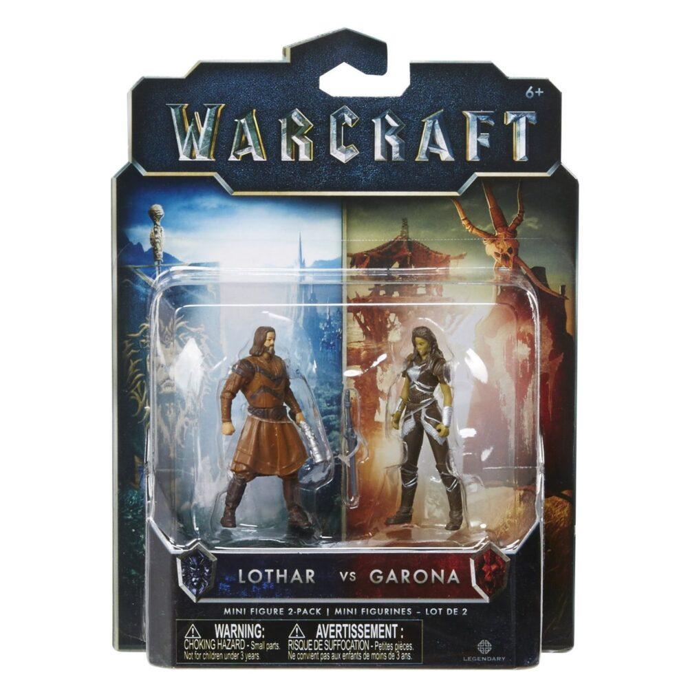 اکشن فیگور گارونا و لوتار (warcraft) (2)