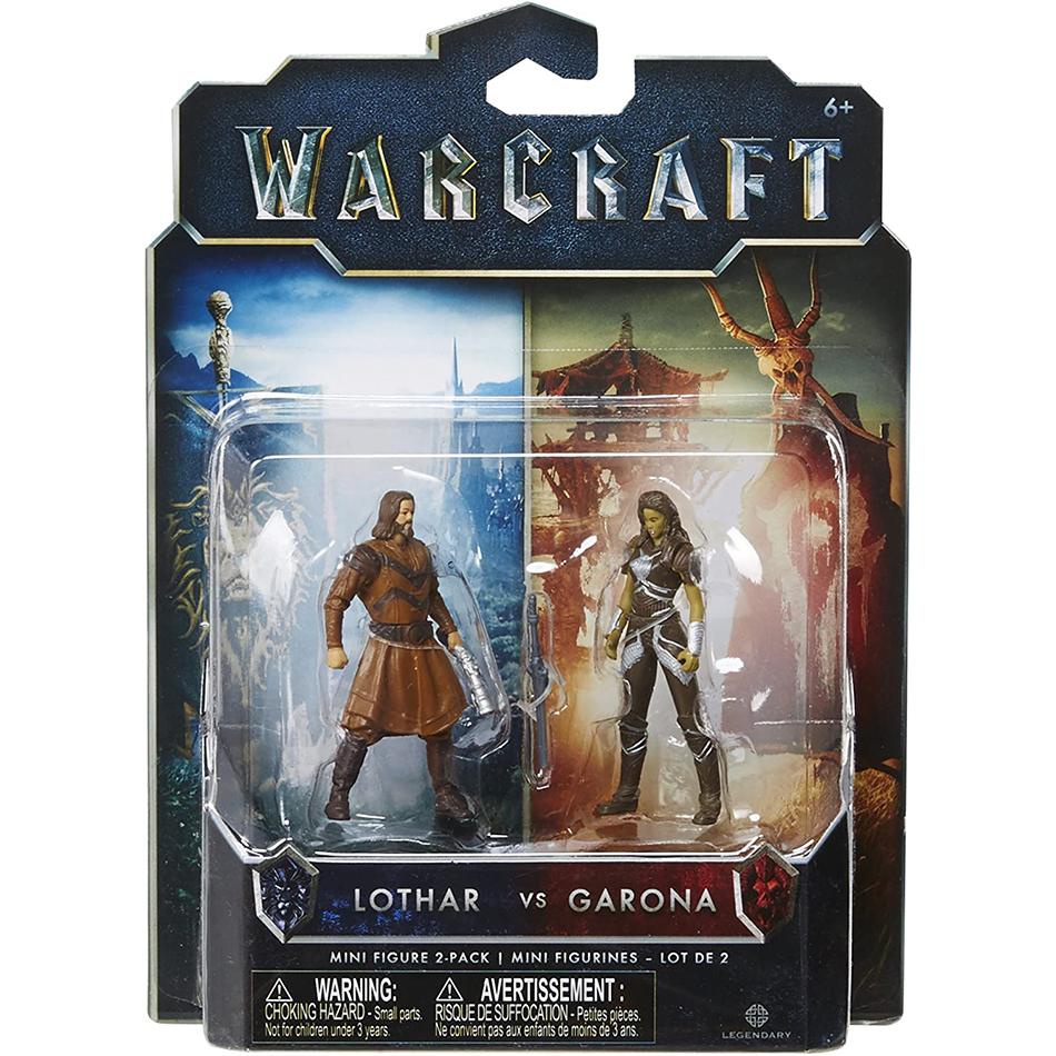 اکشن فیگور گارونا و لوتار (warcraft)