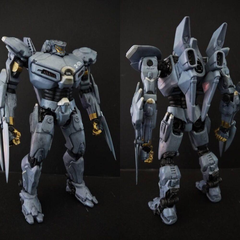 اکشن فیگور Jaeger – Striker Eureka ( حاشیه اقیانوس آرام ) (11)