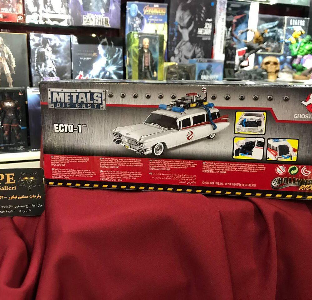 ماکت فلزی جادا مدل شکارچیان روح Ghostbuster (16)