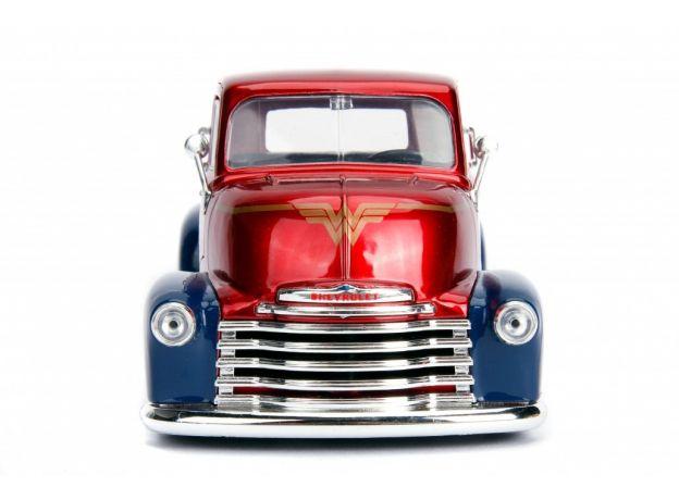 ماکت فلزی جادا مدل واندر وومن و کامیون شورولت (1)